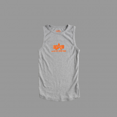 Alpha Industries Logo Tank - szürke