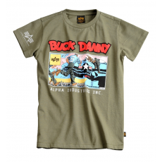 Alpha Industries Air Base Kids T - olive
