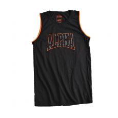Alpha Industries Alpha Print Tank - fekete