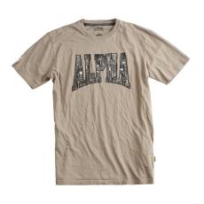 Alpha Industries Photo Print T - light olive
