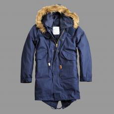 Alpha Industries Vintage Fishtail - replica blue