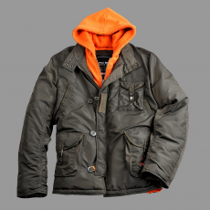 Alpha Industries Cobbs III - replica grey/orange