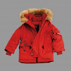 Alpha Industries Kids Explorer - speed red
