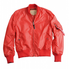 Alpha Industries MA 1 TT - spicy red