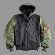 Alpha Industries MA-1 D-Tec Wool - sage green