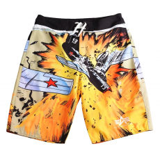 Alpha Industries Crash Swim Short - all over print