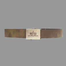 Alpha Industries Leather Belt