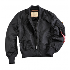 Alpha Industries MA 1 TT - fekete