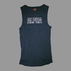 Alpha Industries Track Top - fekete