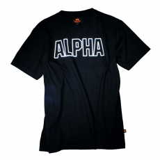 Alpha Industries Track T - fekete