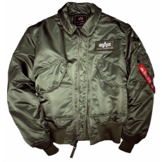 Alpha Industries CWU 45 NOMEX - sage green dzseki