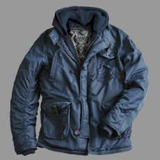 Alpha Industries Cobbs II - replica kék