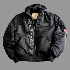 Alpha Industries MA-1 D-Tec ALPHA - fekete