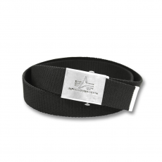 Alpha Industries Heavy Duty Belt 4 cm - fekete