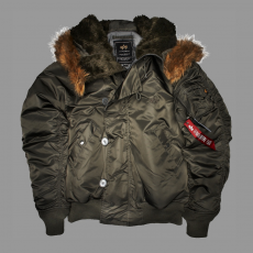 Alpha Industries N2B - replica szürke