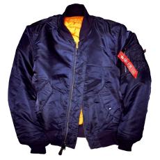 Alpha Industries MA-1 - replica blue