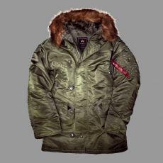 Alpha Industries N3B - sage green