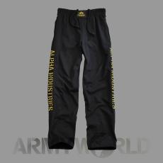 Alpha Industries Track II Pant - fekete/sárga
