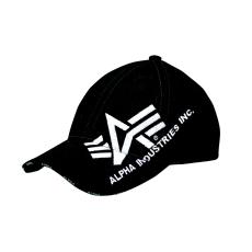 Alpha Industries Big A Cross Cap baseball sapka - fekete