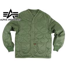 Alpha Industries ALS Liner - olive színű kabát