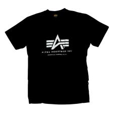 Alpha Industries Basic T - fekete póló