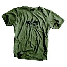 Alpha Industries Basic T - olive póló