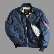 Alpha Industries Engine - replica blue