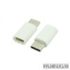 CELLECT Átalakító adapter MICRO USB-ről USB C-re