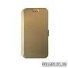 CELLECT Huawei P9 Lite flip oldalra nyíló tok, Arany