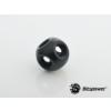 Bitspower Matt Black Q Plus-Block /BP-MBFMB/