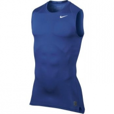 Nike Pro Cool Compression férfi trikó, Royal Kék, XL (703092-480-XL)