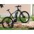 Neuzer E-650B fekete/fehér-cián elektromos kerékpár