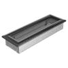Ezüst - Fekete Szellőzőrács Oscar 11x32
