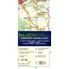 Corvina Kiadó Balaton és környéke / Balaton and its Surroundings 1:125 000