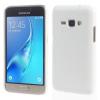 Samsung Galaxy J1 (2016) Tok Műanyag Karbon Mintás Fehér