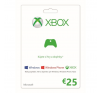 Microsoft XBOX 360 LIVE CSV 25 Euro videójáték kiegészítő