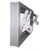 ACO SELF egyszerű üvegezésű fehér bukó melléképület ablak 80x60cm