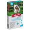 Advantix Spot-on A.U.V. 4-10kg súlyú kutyáknak