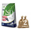 NATURAL&DELICIOUS N&D Grain Free Adult bárány&áfonya 2*12kg