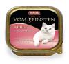 Animonda Vom Feinsten Adult Pulykaszív 16*100g macskaeledel