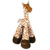 Trixie Plüss hosszú lábú zsiráf, csörgő lábú, 30cm
