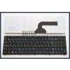 Asus K55A fekete magyar (HU) laptop/notebook billentyűzet