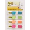 POST-IT Öntapadós jelölőcímke, 12x43 mm, 4x35 címke, színes, POST-IT