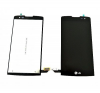 LG Leon H340 LCD kijelző érintőpanellel, fekete mobiltelefon kellék