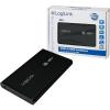 LogiLink Enclosure 2.5' USB 2.0 SATA alumínium fekete HDD ház