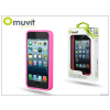 Muvit Apple iPhone 5/5S/SE védőkeret - Muvit i-Belt Bumper - pink