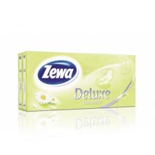 ZEWA Deluxe papírzsebkendő kamilla 10x10db higiéniai papíráru