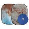 Lastolite Urban 150cm x 210cm Rusty Metal/Plaster összecsukható háttér