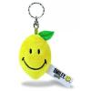 NICI Smiley Plüss kulcstartó citrom 6 cm