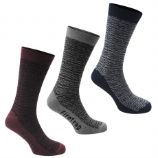 Firetrap Zokni Firetrap Blackseal Multi Patterning 3 Pack fér.